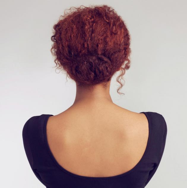Coque cabelo curto 630x631 - Como fazer coque no cabelo?