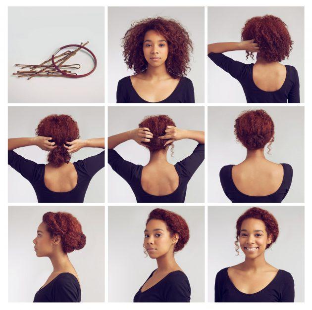 Penteados presos: versatilidade para seus cachos e crespos