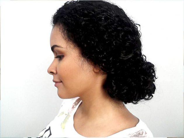 5 1 630x474 - Coque lateral para cabelos cacheados: passo a passo