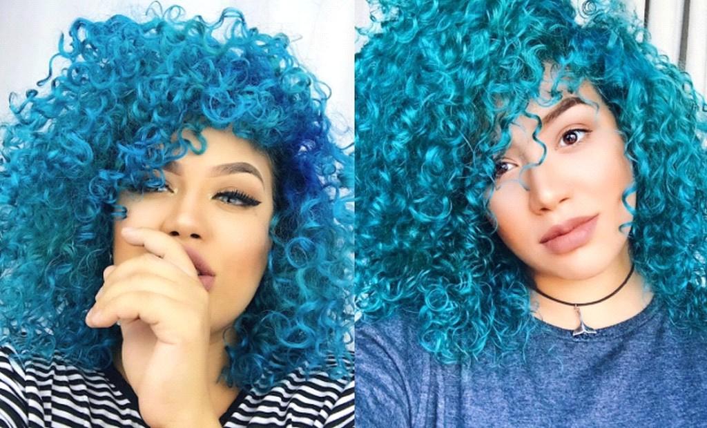 cabelo azul1 - Cabelo azul: Fotos e dicas de tons para se inspirar
