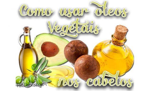 oleo 1 630x381 - Óleos vegetais para cabelo