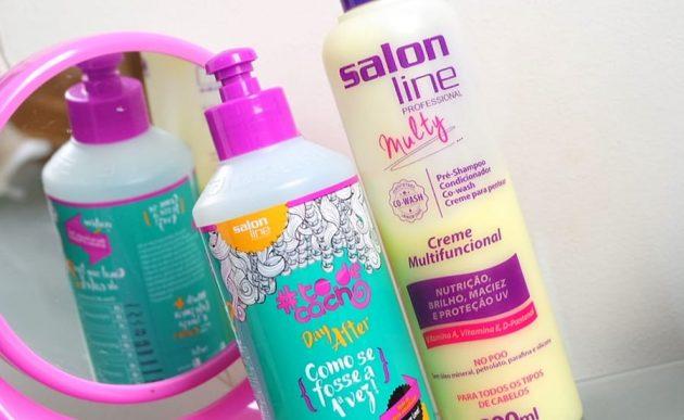 Gel day After Creme Multy Salon Line 1 630x387 - Cachos Lindos usando misturas com produtos #todecacho