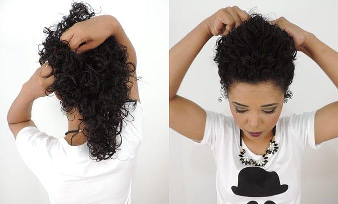 Penteado preso glamoroso para qualquer ocasião