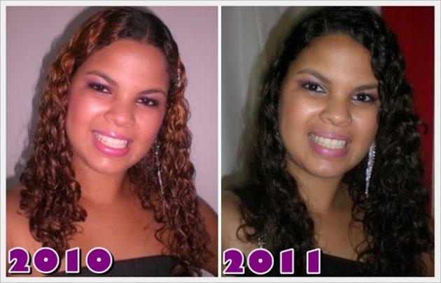 jackie transição1 1 630x404 - Aceitação do cabelo e volume - Transição capilar