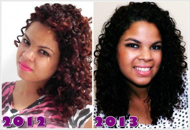 jackie transição2 1 630x430 - Aceitação do cabelo e volume - Transição capilar