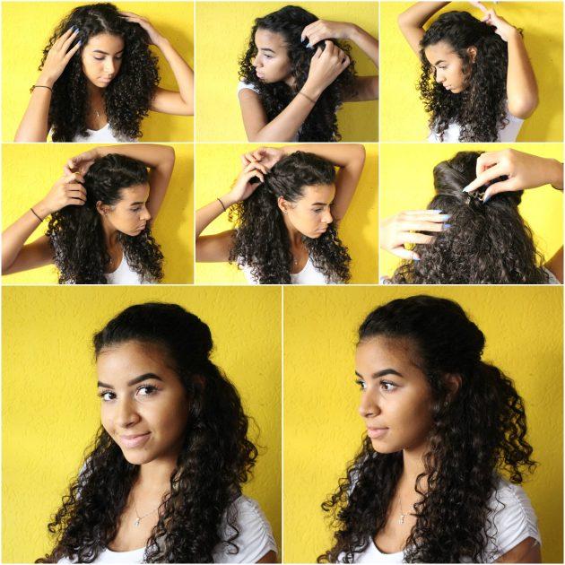 penteado 3 2 630x630 - Penteados: 3 dicas para penteados presos e semi presos