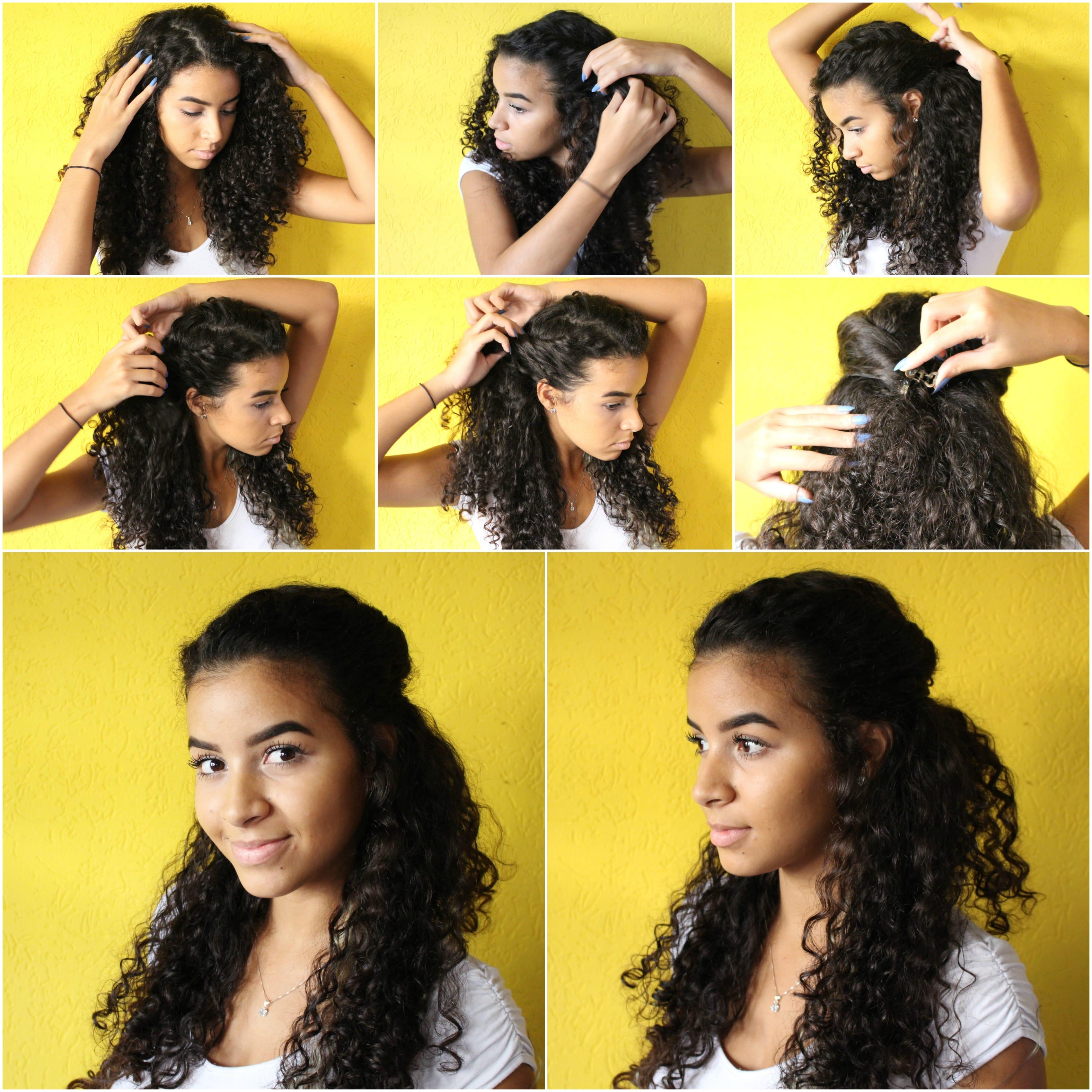 Penteados: 3 dicas para penteados presos e semi presos