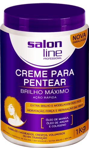 CREME PARA PENTEAR BRILHO MÁXIMO
