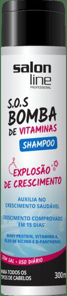 CACHOS S.O.S SHAMPOO BOMBA 300ML