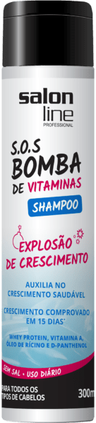 SHAMPOO SOS BOMBA DE VITAMINAS