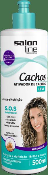 ATIVADOR DE CACHOS SOS LEVE 500ML