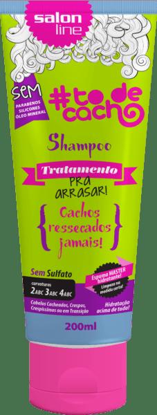 #TODECACHO SHAMPOO DE TRATAMENTO PRA ARRASAR 200ML