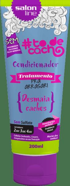 #TODECACHO CONDICIONADOR TRATAMENTO PRA ARRASAR 200ML