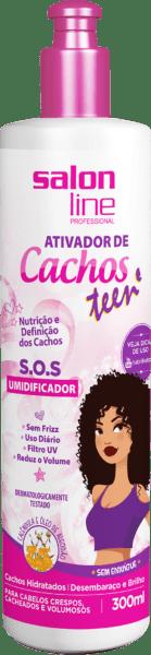 ATIVADOR DE CACHOS S.O.S TEENS 300ML