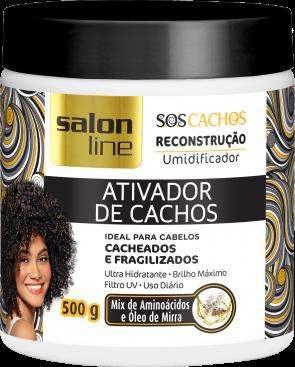 ATIVADOR DE CACHOS SOS RECONSTRUÇÃO 500g