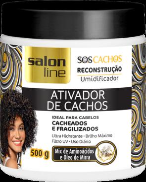 ATIVADOR DE CACHOS S.O.S RECONSTRUÇÃO 500g