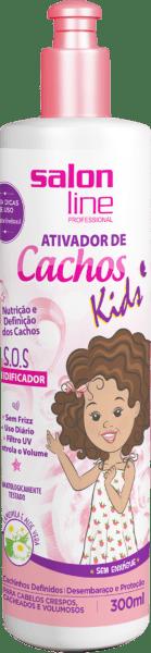ATIVADOR DE CACHOS S.O.S KIDS 300ML