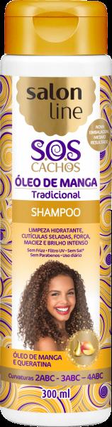 SHAMPOO ÓLEO DE MANGA TRADICIONAL SOS CACHOS