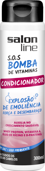 Condicionador SOS Bomba de Vitaminas – Salon Line