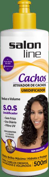 ATIVADOR DE CACHOS UMIDIFICADOR 500ML