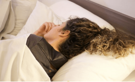 Preparando o cabelo antes de dormir