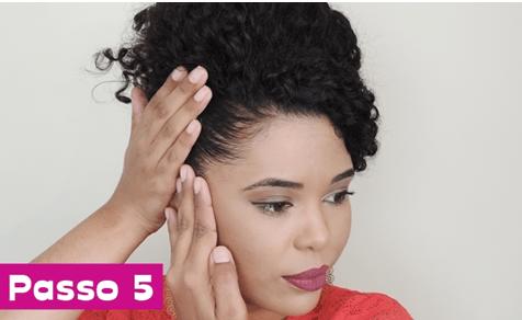 imagem6 2 - Penteado para madrinha de cabelos cacheados, ondulados e crespos