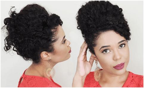 imagem7 1 - Penteado para madrinha de cabelos cacheados, ondulados e crespos
