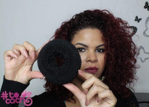 todecacho jackie coque2 630x451 - Coque Donut: Penteado