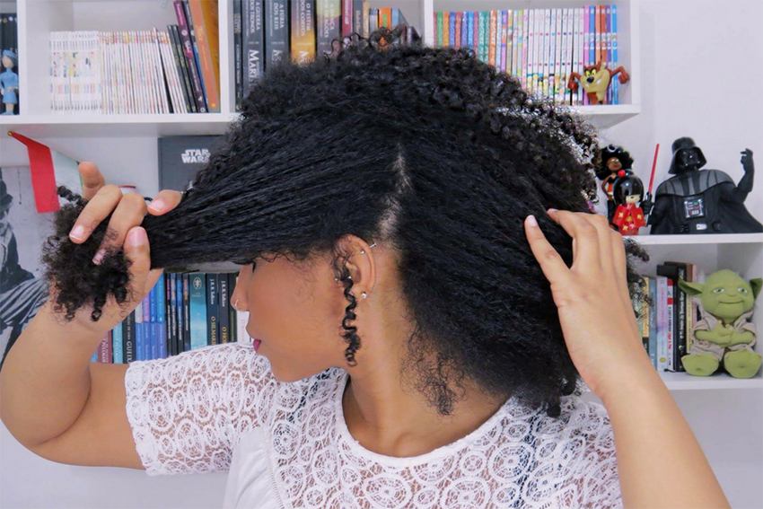 3 - Penteados estilosos para cabelos do tipo 4