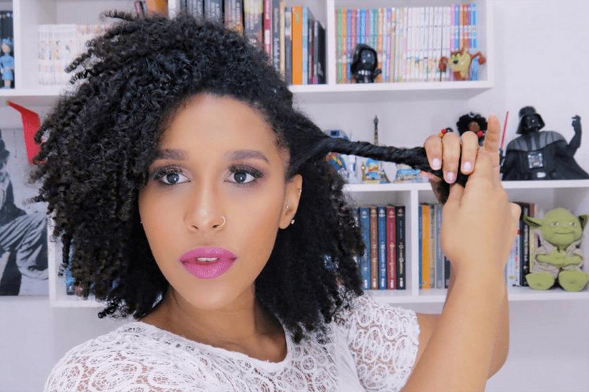 4 - Penteados estilosos para cabelos do tipo 4