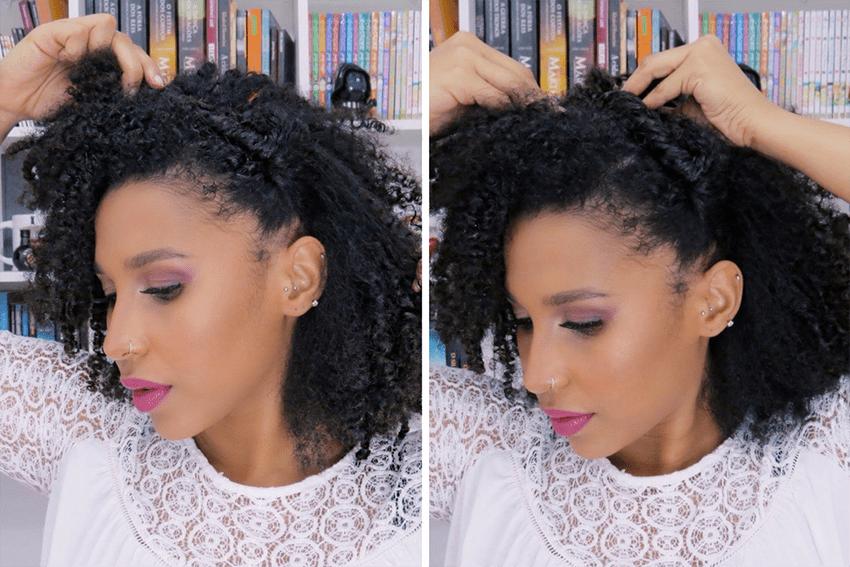 Penteados estilosos para cabelos do tipo 4