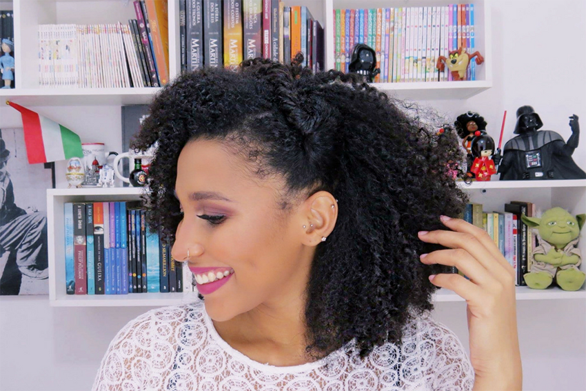 6 - Penteados estilosos para cabelos do tipo 4