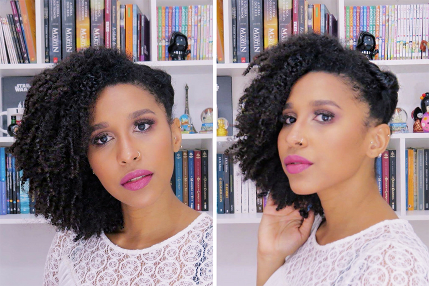 7 - Penteados estilosos para cabelos do tipo 4