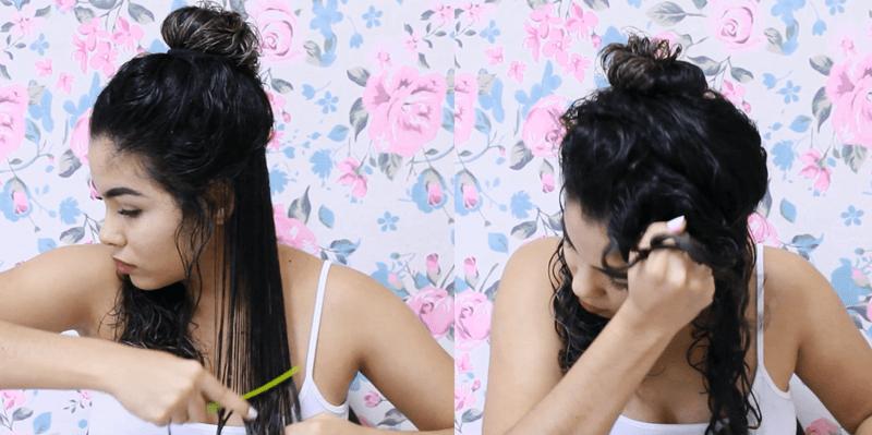 Foto Joyce Lima - Dicas para definição dos cachos nos cabelos 2c e 3a