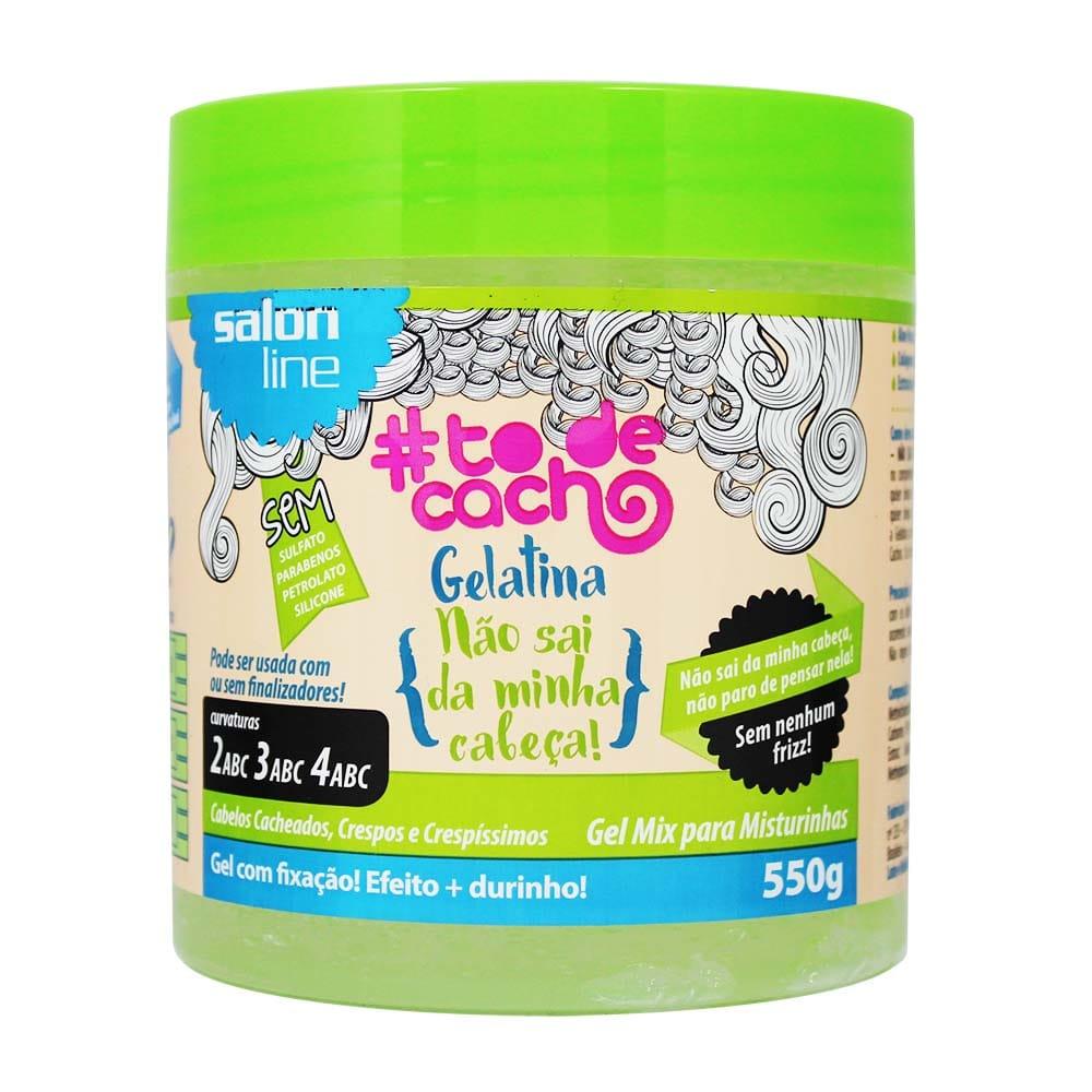 gelatina nao sai da minha cabeca todecacho 550g salon line - Dicas para definição dos cachos nos cabelos 2c e 3a