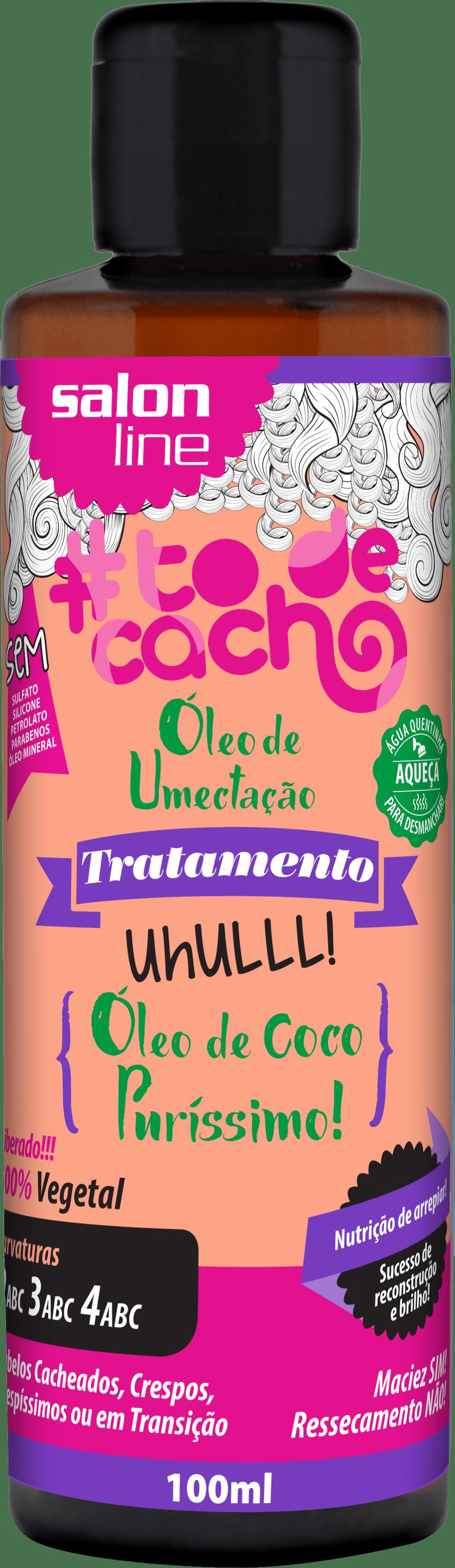 95054 OLEO DE UMECTACAO COCO PURISSIMO TODECACHO 100ML - Como preparar os cachos antes da descoloração