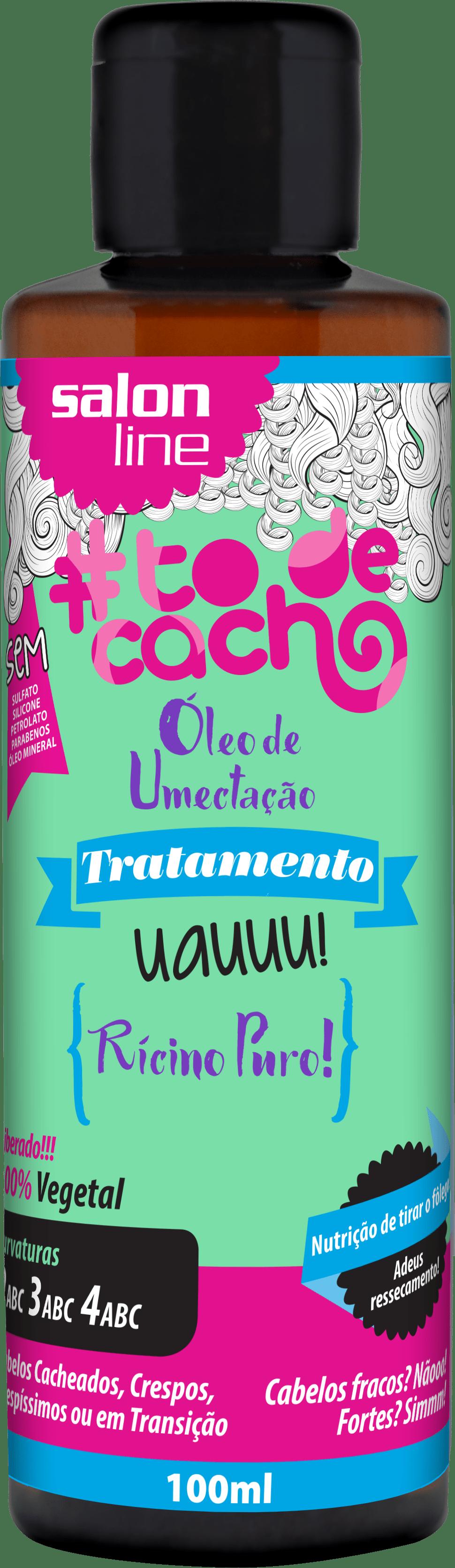 95055 OLEO DE UMECTACAO RICINO PURO TODECACHO 100ML - Como preparar os cachos antes da descoloração