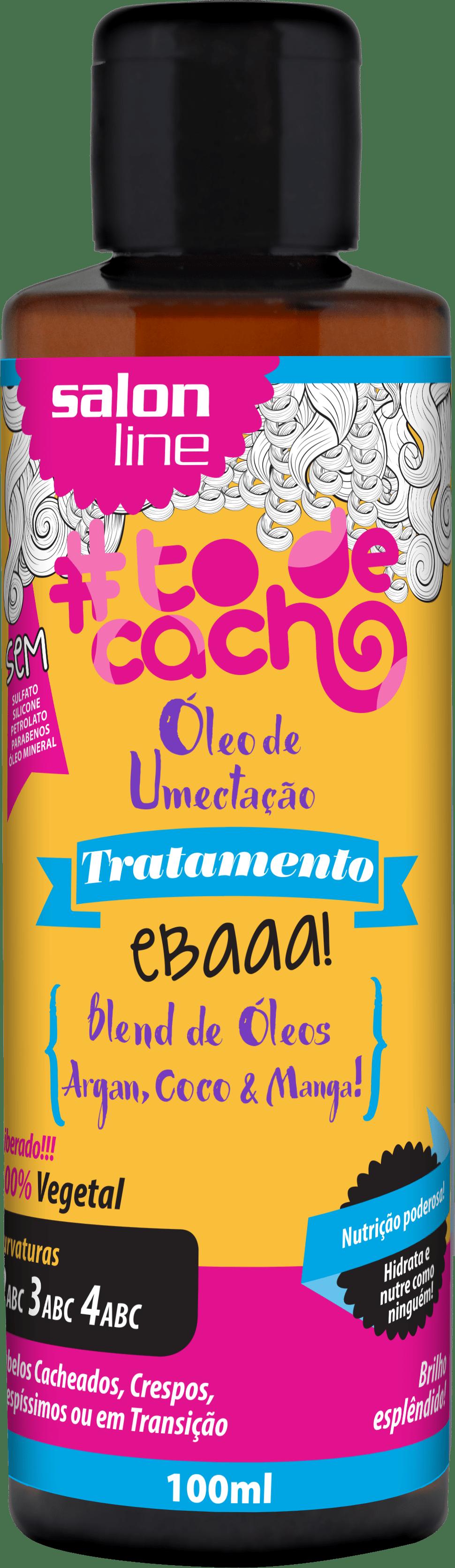 95091 OLEO DE UMECTACAO ARGAN COCO MANGA TODECACHO - Como preparar os cachos antes da descoloração