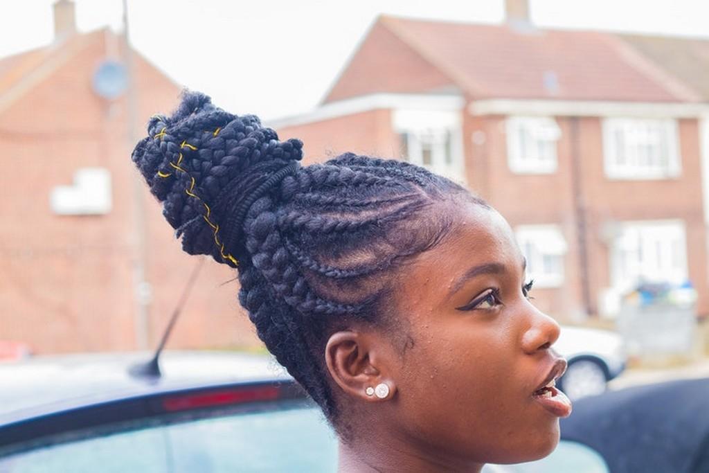 coques com tranças 3 - Coque: o penteado mais democrático que você respeita