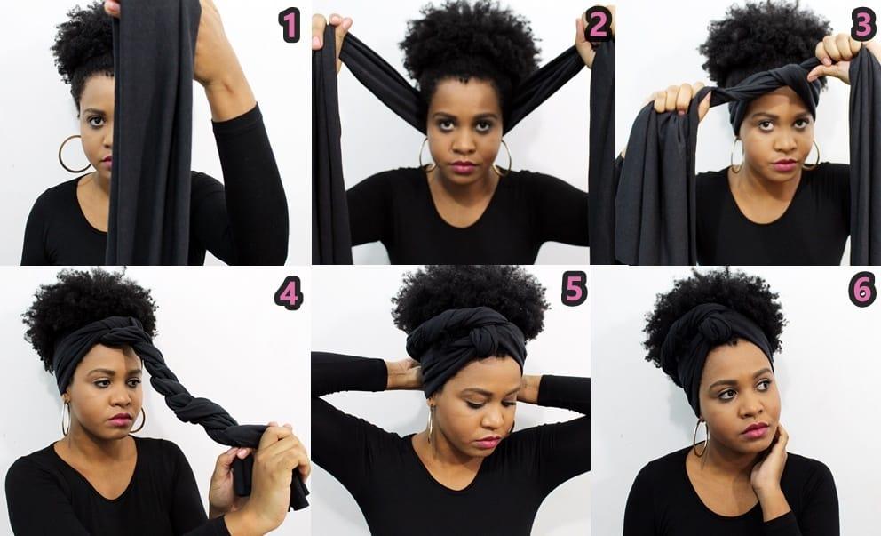Penteado afro: dicas de penteados bem simples!