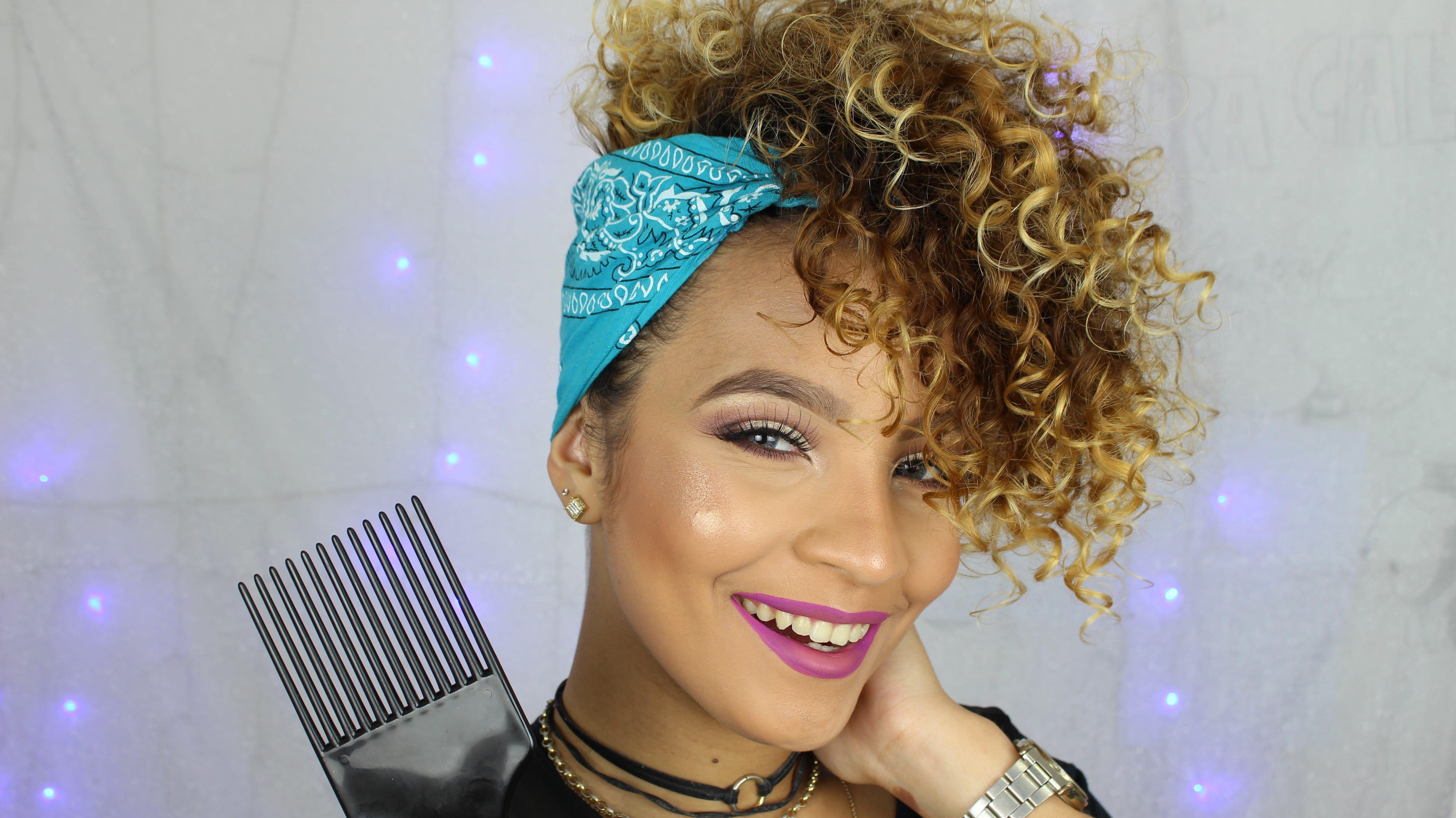 7 - Como arrumar cabelo curto ou em transição