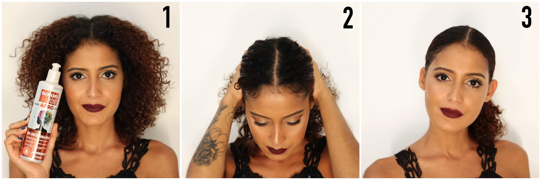 1 - Penteado Preso Glamouroso para Formatura