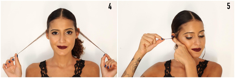 Penteado Preso Glamouroso para Formatura