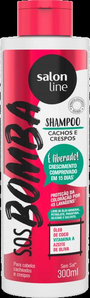 SHAMPOO CACHOS E CRESPOS S.O.S BOMBA
