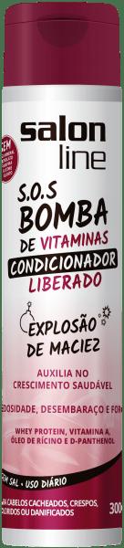 CONDICIONADOR S.O.S BOMBA LIBERADO,300ml