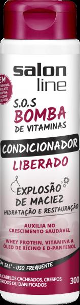 Condicionador SOS Bomba Liberado,300ml