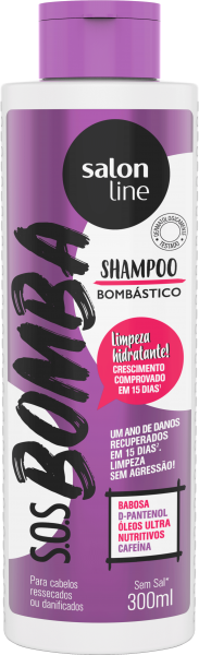SHAMPOO BOMBÁSTICO S.O.S BOMBA