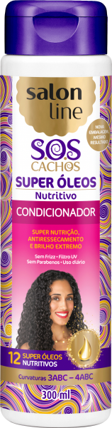 CONDICIONADOR NUTRITIVO SOS CACHOS, 300ml