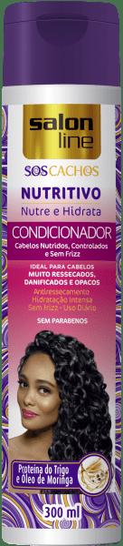 CONDICIONADOR NUTRITIVO S.O.S CACHOS, 300ml