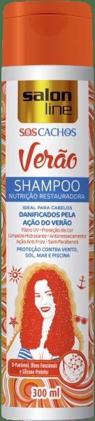 Shampoo S.O.S Cachos Verão Nutrição Restauradora, 300ml